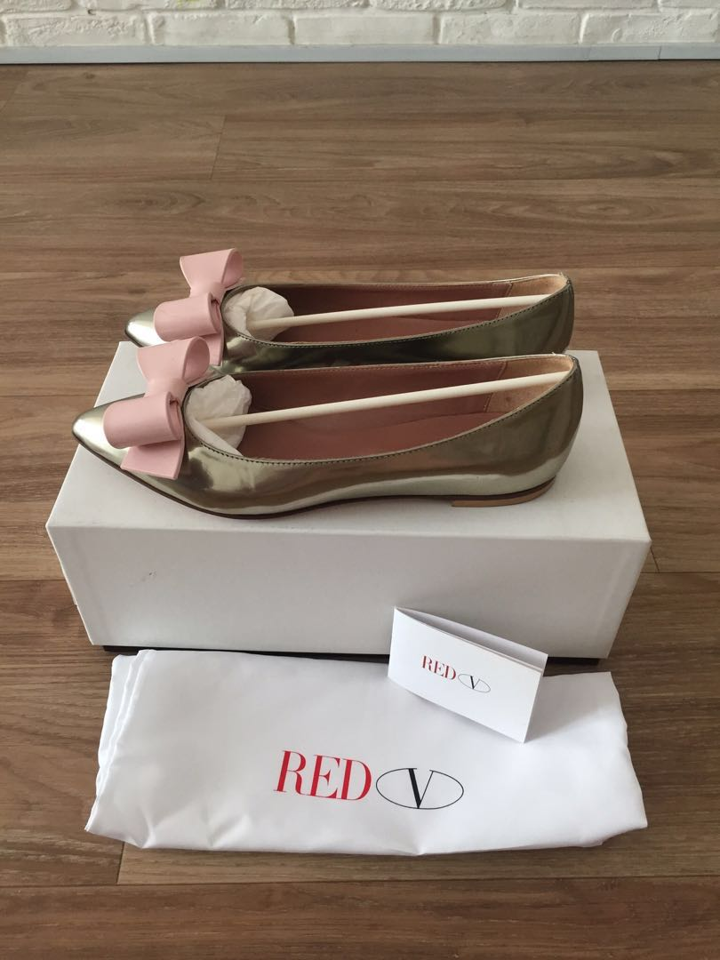 ddd2182724aa Red Valentino pink bow pumps