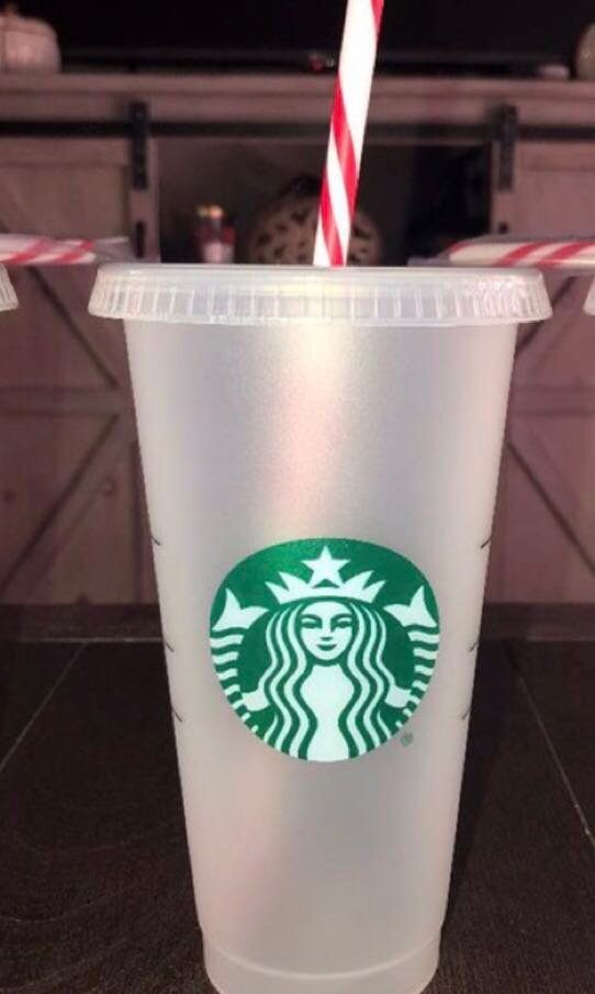 Candy On Reusable With StrawEverything Cane Else Starbucks Cup htxBQrdsC