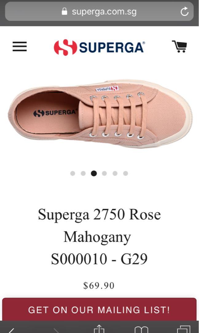 5b9d2aa5bb8f Supergas 2750 Cotu Classic Rose Mahogany 37