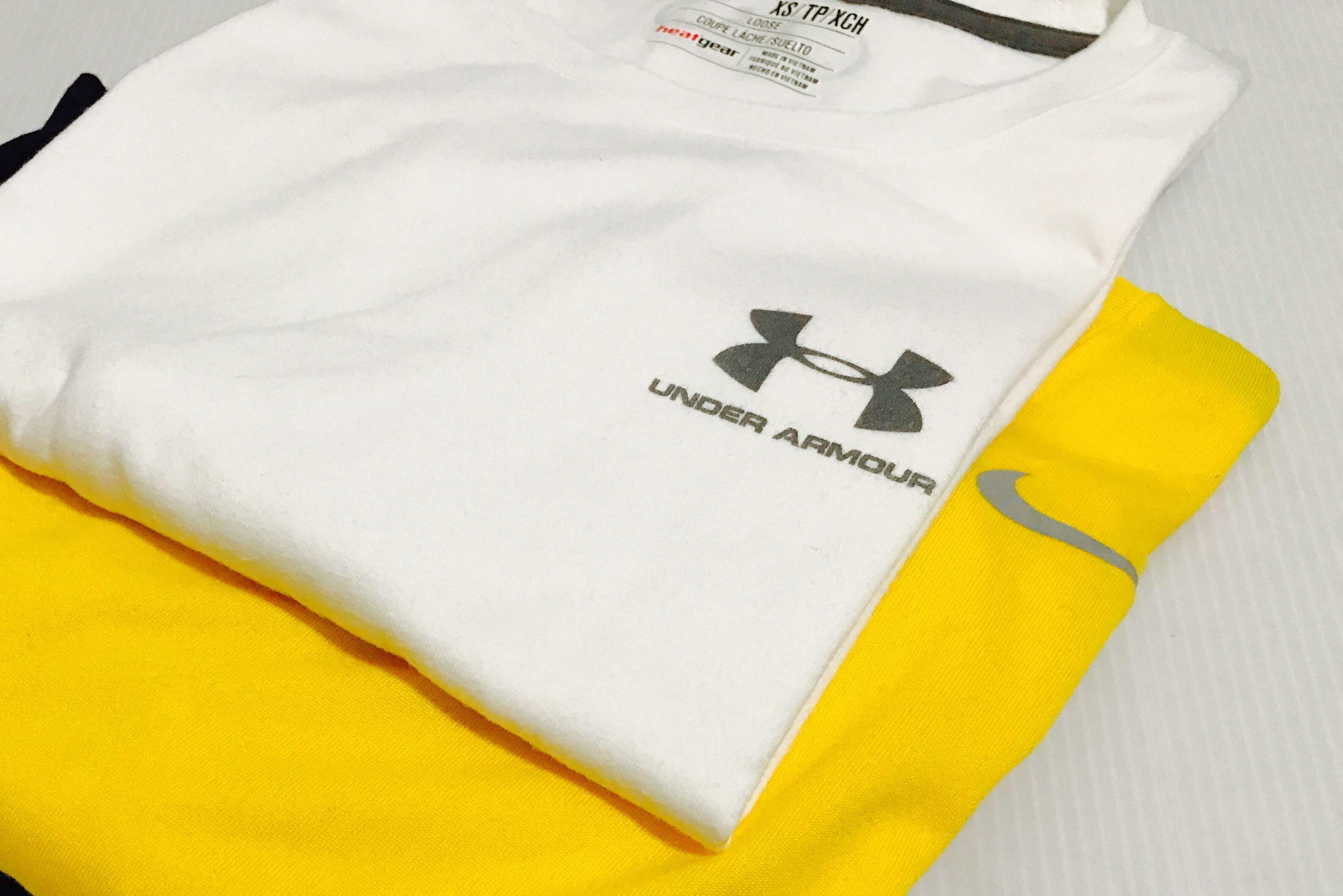 gráfico pálido eje  Under Armour Nike Abercrombie Fred Perry T, Men's Fashion, Clothes, Tops on  Carousell