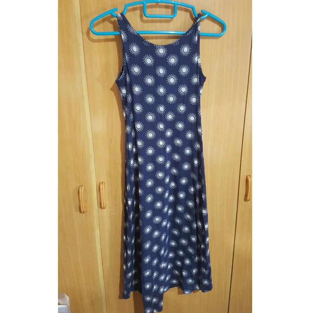 673ae30ea4228 Uniqlo sleeve less dress