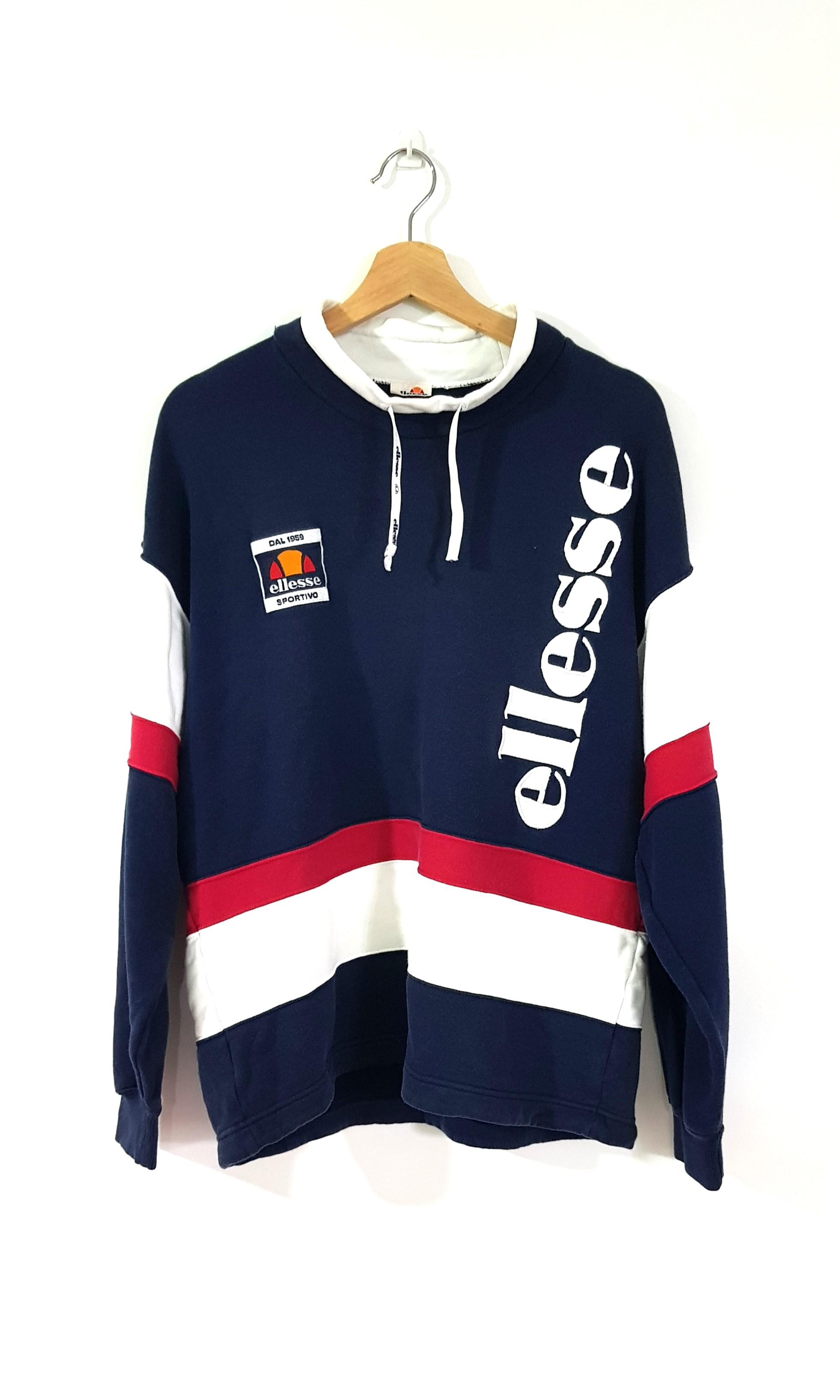 f8f017da Vintage Ellesse Sweatshirt, Men's Fashion, Clothes, Tops on Carousell