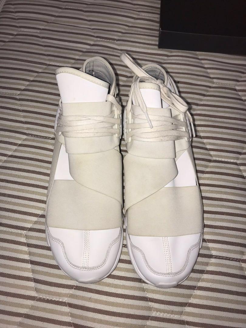 2f7dcf350 Y3 qasa high white