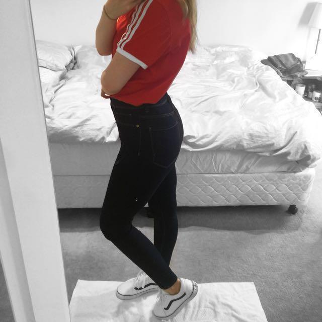 Zara High Waist Jeans