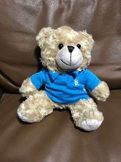 Bear with Standard Chartered Shirt