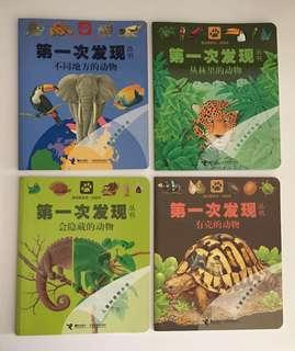 Scholastic First Discovery Chinese Science Books 第一次发现