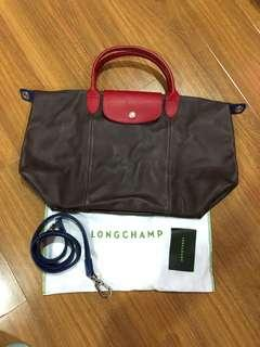 Authentic Longchamp Cuir