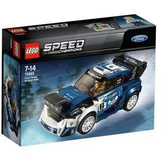 Lego Speed Champions 75885 Ford Fiesta M-Sport WRC Sealed new