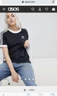 [LF/looking for] adidas orginal 3 stripe tee