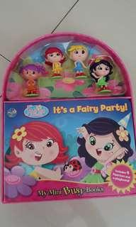 Fairy party busy book