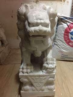 漢白玉獅子