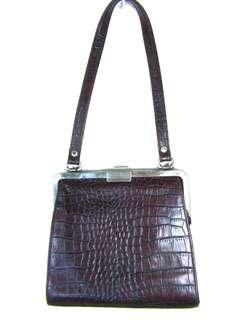 Guess genuine Italian leather bag