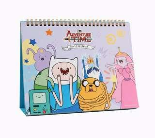Korea Adventure Time 2019 Table Calendar Made in Korea