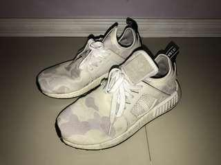 Adidas NMD XR1 white camouflage