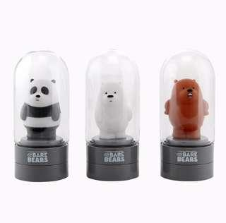 Korea WeBareBear Mini Lamp Diffuser (Ice Bear/Panda/Grizzly)