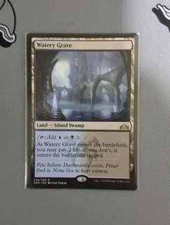 Magic The Gathering - Watery Grave Land Card