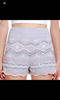 MDS Dream Weaver Sequin Shorts