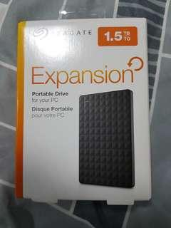 Seagate 1.5tb External Hard Disk