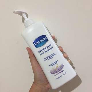 Vaseline intensive care advanced strength body lotion. 400 ml.