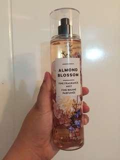 Authentic Bath Body Works Body Mist  Almond Blooming