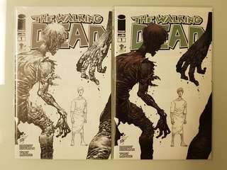 The Walking Dead #1 Emerald City Con 2014 Erik Larsen variant