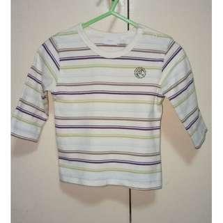 Mexx Baby's Long Sleeve Striped Shirt