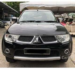 2012 Mitsubishi Pajero Sport 2.5 GL (A) One Owner Leather Seat