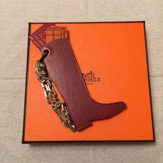 Hermès Boot Tiger Lion Cadena Bag Charm