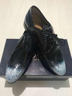 "Italian Florence ""Patina"" Oxford Shoe (Brand New)"