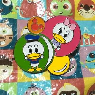 迪士尼襟章 唐老鴨 (Disney Pin Donald Duck)