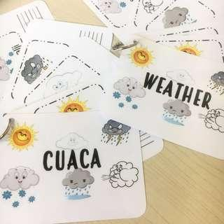 Tracing Activity - Weather