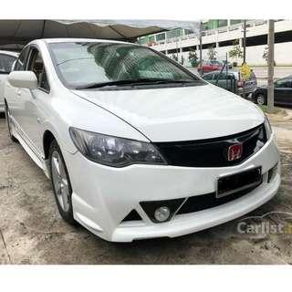 2011 Honda Civic 1.8 S (A) Facelift One Owner Mugen RR Bodykit