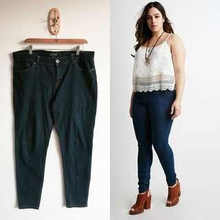 Forever 21 PLUS SIZE DENIM PANTS