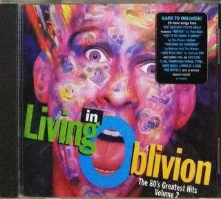 arthcd LIVING IN OBLIVION CD (80s Hits)
