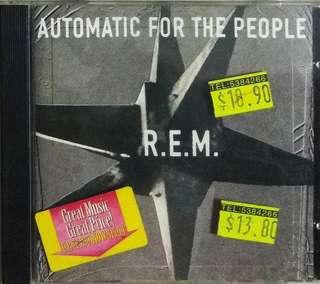 arthcd REM (R.E.M.) Automatic For The People CD
