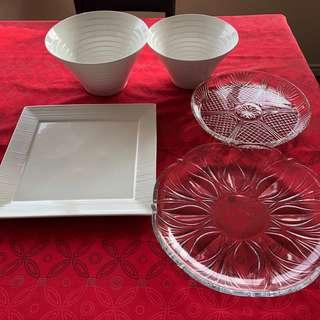 Assorted Maxwell Williams Bowls and Platters