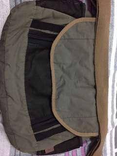 Esprit green sling bag.