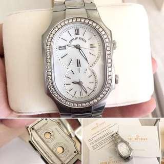 Philip Stein Ladies Watch with Diamonds