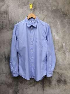 💎Uniqlo Long Sleeve Shirts Blue💎