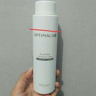 [REPRICE] Oriflame optimals even out clarifying toner 200ml
