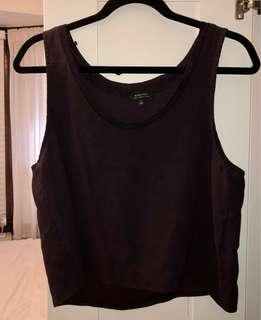 Babaton Sleeveless Purple Tank