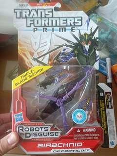 Transformers Prime Airachnid deluxe class