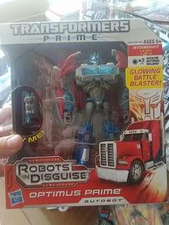 Transformers Prime Optimus Prime voyager class