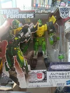 Transformers Generations Springer Voyagerclass