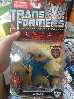 Transformers Generations Dirge deluxe class