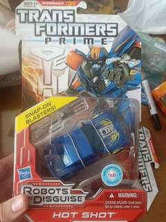 Transformers Prime Hot Shot deluxe class