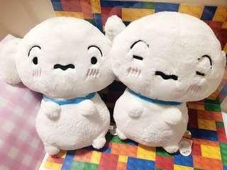 日本直送最新小白公仔超上45cm $120一個