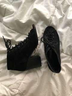 Urban Outfitters lace up heels