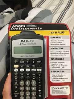 BA II plus calculator