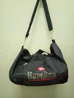 Vintage HAVOLINE duffle bag M size